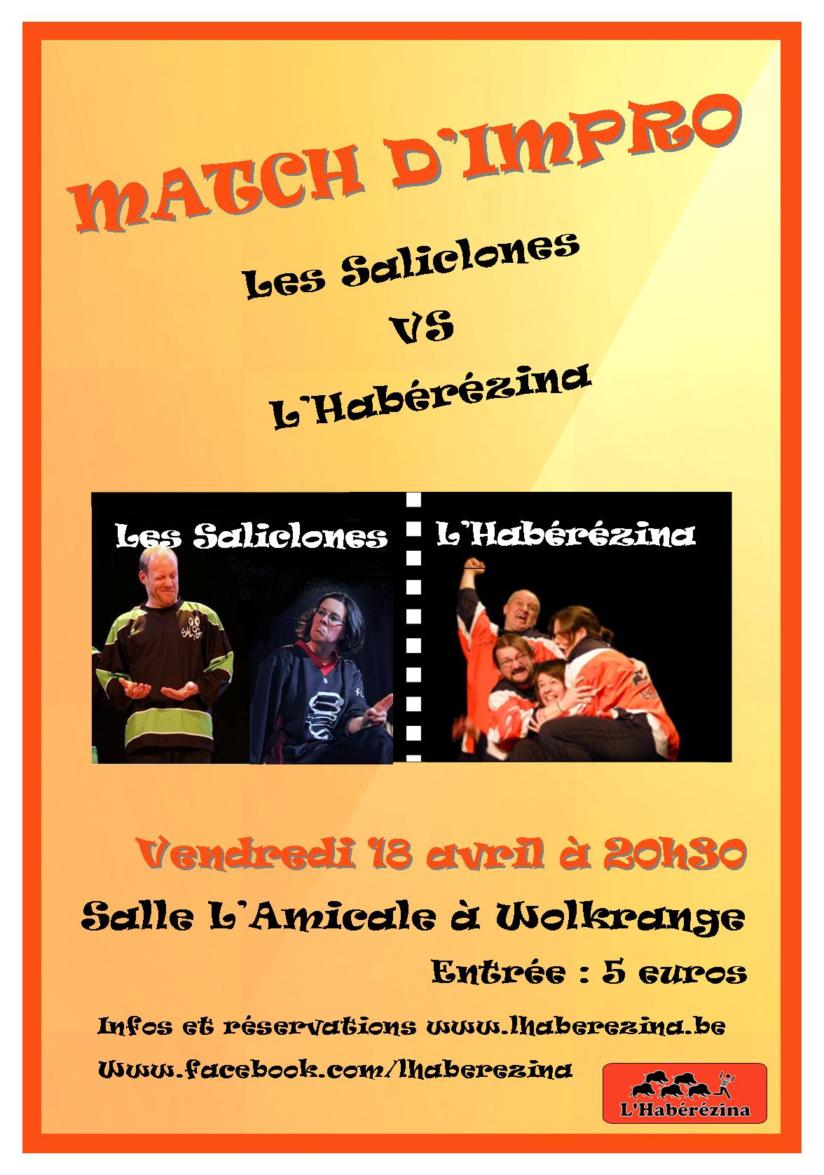 Affiche Match 18 avril
